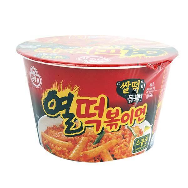 Ottogi Hot Spicy Rice Cake With Ramen 140g No 22 New
